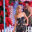 """Paris Hilton au défilé de mode """"Philipp Plein"""" Prêt à Porter collection printemps/été 2017 lors de la Fashion Week de Milan, Italie, le 21 septembre 2016."""