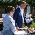 """Le prince William et Kate Middleton, duc et duchesse de Cambridge, ont pris part à un festival gastronomique, """"A Taste of British-Colombia"""", sur Mission Hill à Kelowna dans la vallée de l'Okanagan, au matin du quatrième jour de leur visite officielle au Canada, le 27 septembre 2016"""
