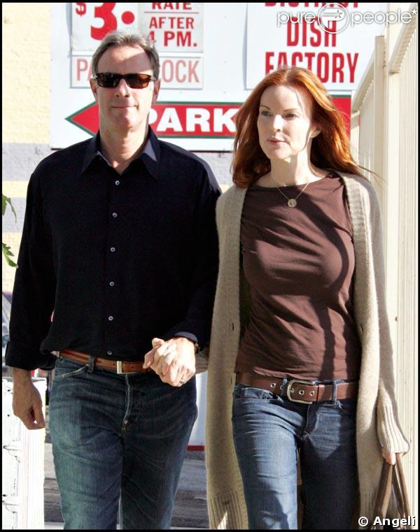 Marcia Cross et Tom Mahoney