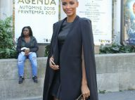 Fashion Week : Flora Coquerel, modeuse chic en noir pour Guy Laroche