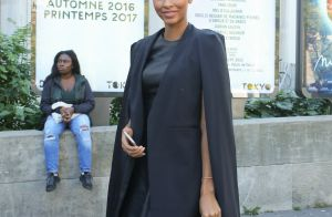Fashion Week : Flora Coquerel, modeuse chic en noir pour Guy Laroche