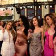 "Camila Cabello, Normani Hamilton, Dinah-Jane Hansen, Lauren Jauregui et Ally Brook du groupe Fifth Harmony - Soirée ""iHeartRADIO MuchMusic Video Awards"" à Toronto. Le 19 juin 2016 © Igor Vidyashev / Zuma Press / Bestimage"