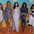 "Fifth Harmony - People à la soirée ""Kids' Choice Awards"" au Forum à Inglewood. Le 12 mars 2016"