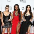 """Dinah-Jane Hansen, Ally Brooke, Camila Cabello, Lauren Jauregui et Normani Kordei de Fifth Harmony à La 43ème cérémonie annuelle des """"American Music Awards"""" à Los Angeles, le 22 novembre 2015."""