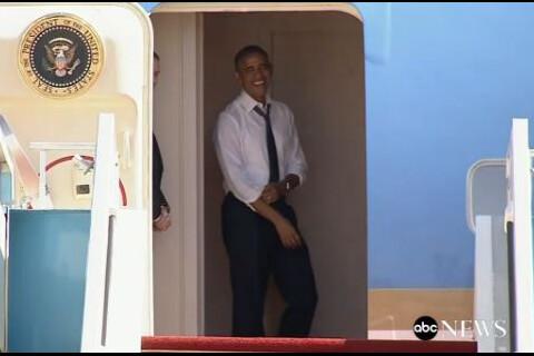 Barack Obama se prend un vent de Bill Clinton et s'impatiente...