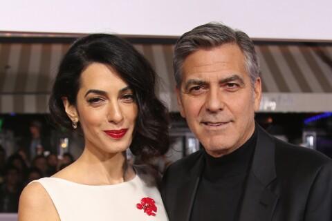 George et Amal Clooney : Comment ont-ils fêté leurs noces de cuir ?