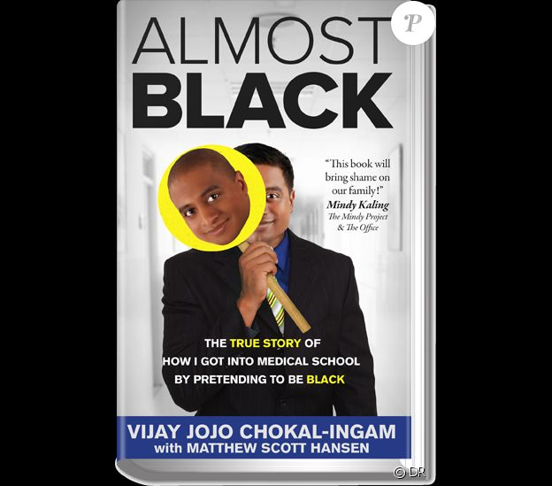 Le livre de Vijay Chokal-Ingam, Almost Black