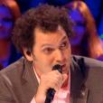 Eric Antoine, dans la demi-finale d' Incroyable Talent  saison 10 sur M6, le mardi 1er décembre 2015.