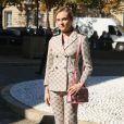 """Diane Kruger - Défilé de mode prêt-à-porter printemps-été 2017 """"Miu Miu"""" au Palais d'Iéna. Paris, le 5 octobre 2016 © CVS-Veeren / Bestimage"""