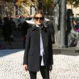"""Olivia Palermo - Défilé de mode prêt-à-porter printemps-été 2017 """"Miu Miu"""" au Palais d'Iéna. Paris, le 5 octobre 2016 © CVS-Veeren / Bestimage"""
