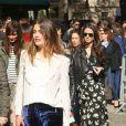 """Louise Grinberg - Défilé de mode prêt-à-porter printemps-été 2017 """"Miu Miu"""" à Paris. Le 5 octobre 2016 © CVS-Veeren / Bestimage Arrivals at the S/S 2017 Miu Miu fashion show in Paris. On october 5th 201605/10/2016 - Paris"""