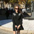 """Zoey Deutch- Défilé de mode prêt-à-porter printemps-été 2017 """"Miu Miu"""" au Palais d'Iéna. Paris, le 5 octobre 2016 © CVS-Veeren / Bestimage"""