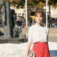 """Mackenzie Leigh- Défilé de mode prêt-à-porter printemps-été 2017 """"Miu Miu"""" au Palais d'Iéna. Paris, le 5 octobre 2016 © CVS-Veeren / Bestimage"""