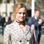 "Fashion Week : Diane Kruger et ""La Danseuse"" Soko finissent en beauté"