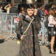 """Défilé de mode prêt-à-porter printemps-été 2017 """"Miu Miu"""" au Palais d'Iéna. Paris, le 5 octobre 2016."""