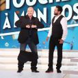 Exclusif -Cauet et Cyril Hanouna - Enregistrement de la première émission de la rentrée de Touche pas à mon poste (TPMP) sur C8 à Paris le 5 septembre 2016. © Dominique Jacovides / Bestimage