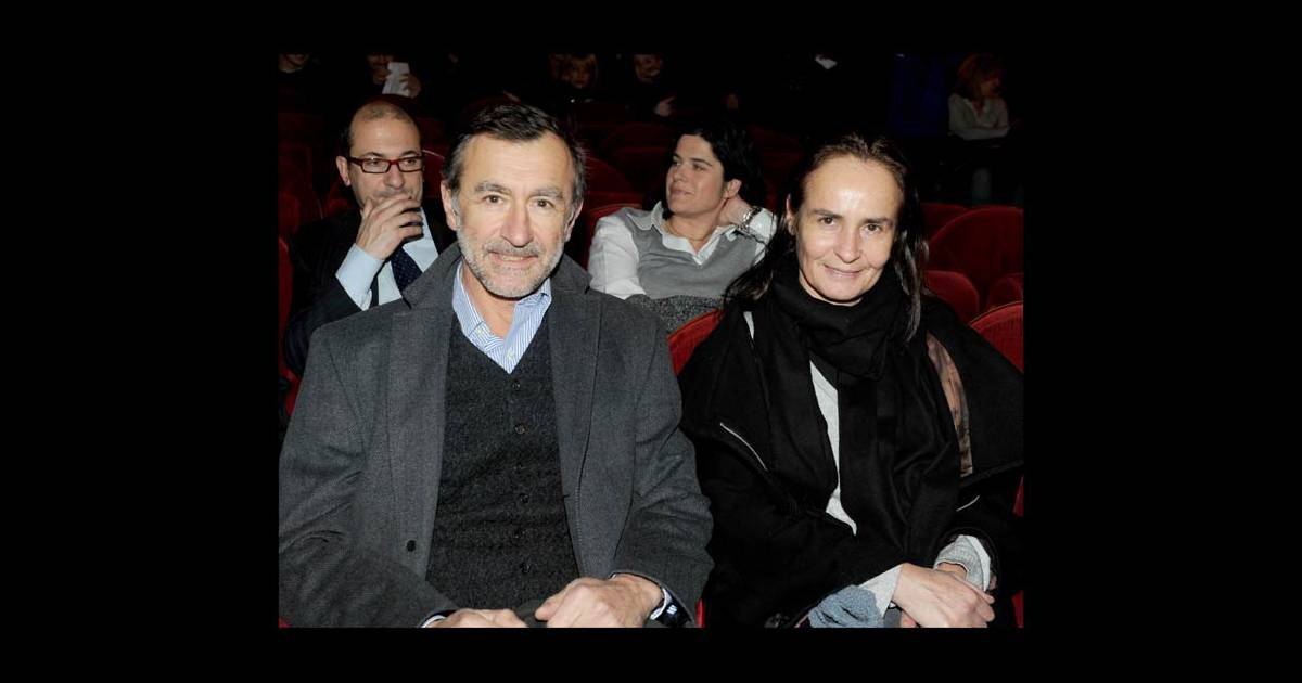 Christophe malavoy et son pouse la 100e du spectacle de - Laurent bignolas et son epouse ...