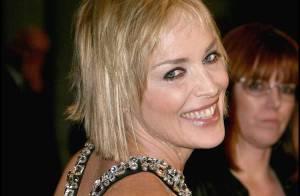 PHOTOS : Sharon Stone tirée... à quatre épingles !