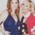 Geri Halliwell et sa copine Emma Bunton à la soirée des Attitude Awards, le 10 octobre 2016