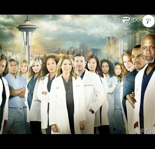 Le cast de la saison 10 de Grey's Anatomy.