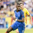 Paul Pogba au match d'ouverture de l'Euro 2016, France-Roumanie au Stade de France, le 10 juin 2016.