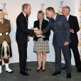 Le prince William à la soirée de remise des MOD Employer Recognition Scheme Gold Awards à Londres le 12 octobre 2016.