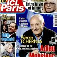 "Magazine ""Ici Paris"" en kiosques le 13 octobre 2016."
