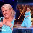 """Valérie Damidot et Christian Millette - """"Danse avec les stars 7"""" sur TF1. Le 15 octobre 2016."""