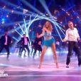 """Julien Lepers et Silvia Notargiacomo - """"Danse avec les stars 7"""" sur TF1. Le 15 octobre 2016."""
