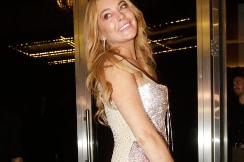Lindsay Lohan, topless pour fêter l'ouverture de son club !