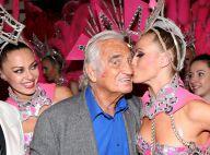 Jean-Paul Belmondo : Entouré des bombes du Moulin-Rouge, il voit la vie en rose