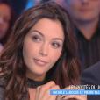 """Nabilla dans """"Touche pas à mon poste"""" sur C8. Le 12 septembre 2016."""