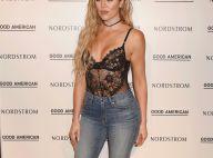 Khloé Kardashian : Sexy en corset transparent, la soeur de Kim K attire l'oeil