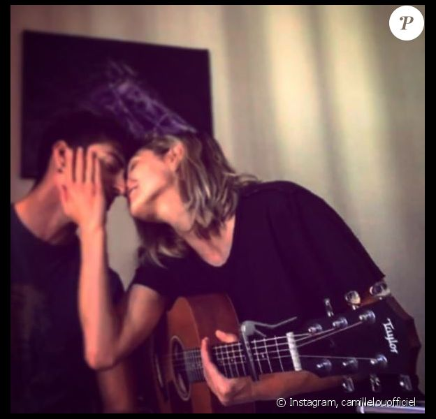 Camille Lou et son chéri Gabriele, Instagram. Le 20 octobre 2016.