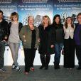 L'équipe du film Mince Alors à Boulogne le 24 mars 2012