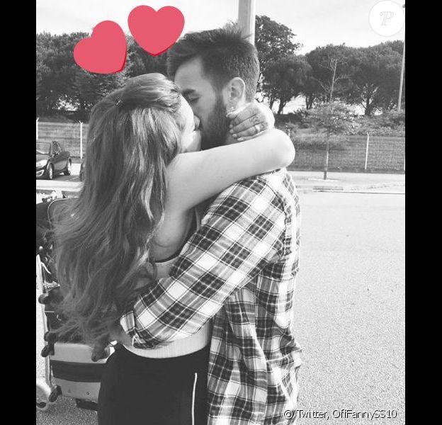 """Fanny de """"Secret Story 10 et son fiancé Joao, sur Twitter, mardi 1er novembre 2016"""
