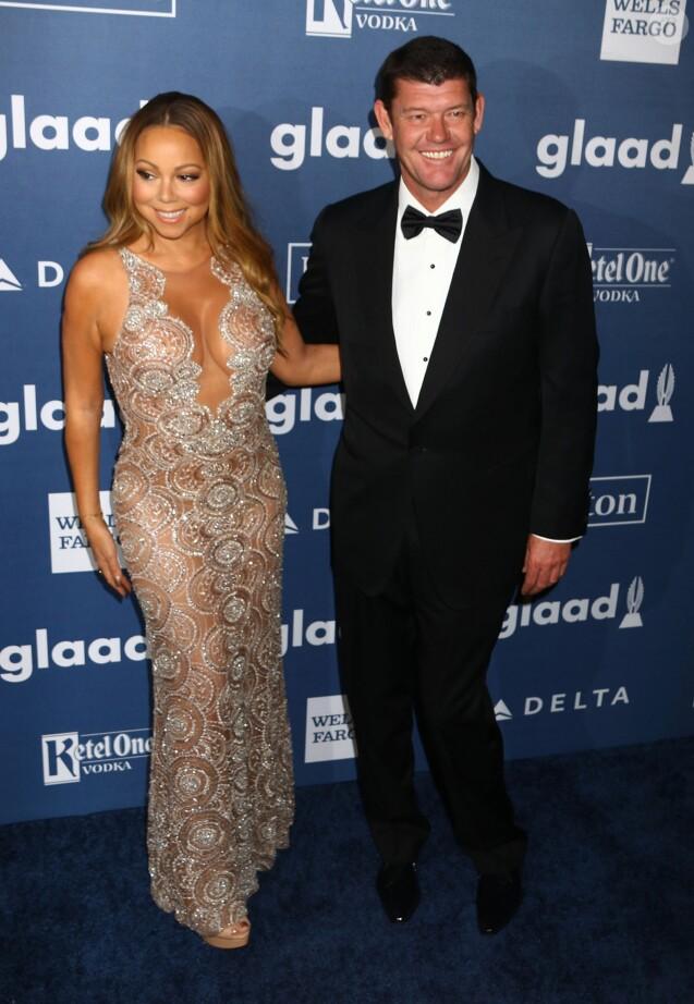 Mariah Carey et James Packer à la 27ème soirée annuelle Glaad Media à The Waldorf-Astoria à New York le 14 mai 2016