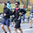 Miguel Angel Munoz pendant le marathon de New York, le 6 novembre 2016.