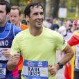 Raúl Gonzalez pendant le marathon de New York, le 6 novembre 2016.