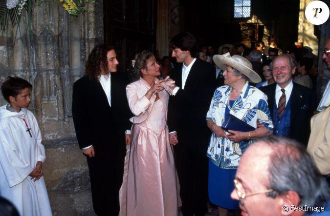 Mariage de v ronique sanson et pierre palmade en 1995 - Compagnon de veronique sanson ...