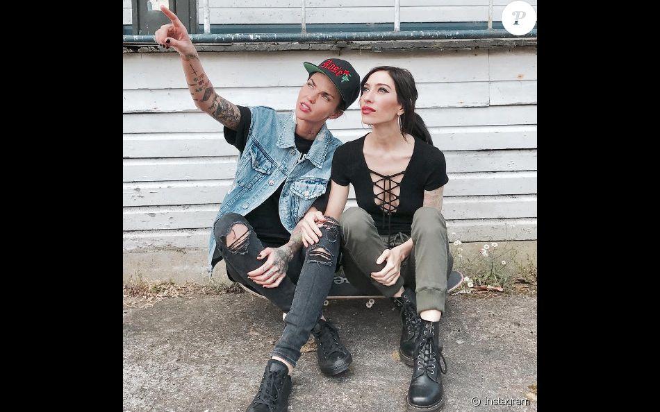 Ruby Rose et sa petite amie Jessica Origliasso (novembre 2016).