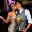 """Shy'm remporte la saison 2 de """"Danse avec les stars"""" avec Maxime Dereymez, en 2011"""