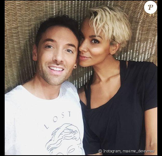 """Shy'm de retour dans """"Danse avec les stars"""" sur TF1 le 10 novembre prochain. Elle et son ancien partenaire Maxime Dereymez sont très heureux de se retrouver."""