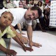 Josh Brolin inaugure La Casa Dei Angeli en Haïti