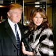 Donald et Melania Trump à New York le 1er novembre 2005