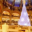 Illustration - Inauguration des décorations de Noël des Galeries Lafayette à Paris, le 8 novembre 2016. © CVS/Bestimage  The Galeries Lafayette Christmas decorations inauguration at Galeries Lafayette Haussmann, on November 8th, 2016 in Paris, France.08/11/2016 - Paris