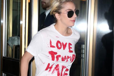 Lady Gaga dans la rue, Katy Perry décalée après l'élection de Donald Trump
