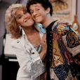 Image promotionnelle de la série Sauvés par le gong avec Dustin Diamond et Ruth Buzzi, dans les années 90