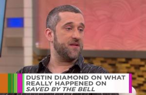 Dustin Diamond (Sauvés par le gong) fait son mea culpa après son livre explosif