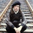 Leonard Cohen en Allemagne sur une photo datée du 25 avril 1976